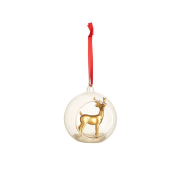 Villeroy & Boch - Christmas Toys 2019 - bombka z figurką - średnica: 10 cm