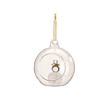 Villeroy & Boch - Toy's Delight Royal Classic Accessories - bombka z figurką bałwana - średnica: 8 cm