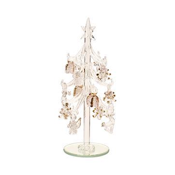 Villeroy & Boch - Winter Collage Accessoires - szklana choinka - wysokość: 20,5 cm