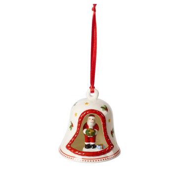 Villeroy & Boch - My Christmas Tree - zawieszka - dzwonek z Mikołajem - wysokość: 7 cm