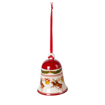 Villeroy & Boch - My Christmas Tree - dzwonek - renifery - wysokość: 7 cm