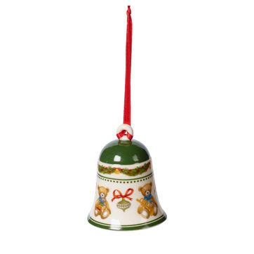 Villeroy & Boch - My Christmas Tree - dzwonek - misie - wysokość: 7 cm
