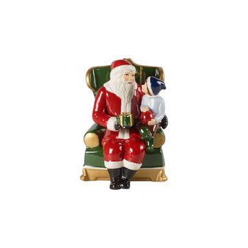 Villeroy & Boch - Christmas Toys - Mikołaj na fotelu - wymiary: 10 x 10 x 15 cm