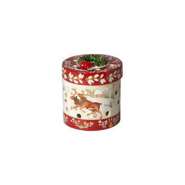 Villeroy & Boch - Christmas Toys - pudełko-lampion - wysokość: 9,5 cm