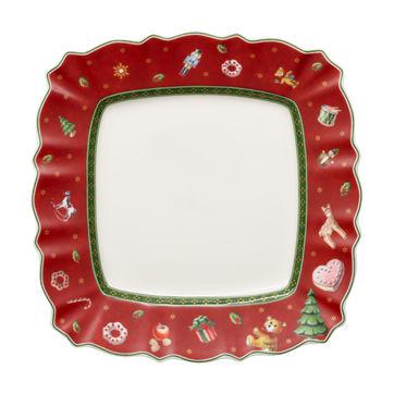 Villeroy & Boch - Toy's Delight - kwadratowy talerz sałatkowy - wymiary: 24 x 24 cm