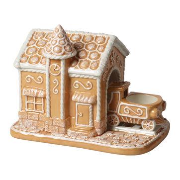 Villeroy & Boch - Winter Bakery Decoration - świecznik na tealight - stacja - wymiary: 20 x 13 x 16 cm