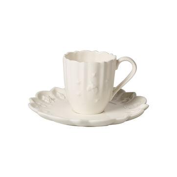 Villeroy & Boch - Toy's Delight Royal Classic - filiżanka do espresso ze spodkiem - pojemność: 0,09 l
