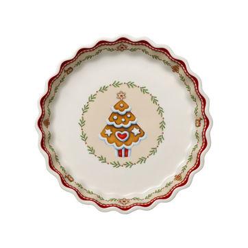 Villeroy & Boch - Winter Bakery Delight - półmisek na przekąski - średnica: 22 cm