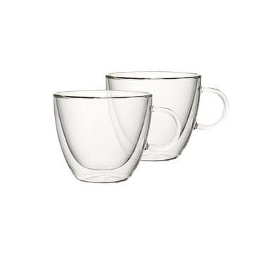 Villeroy & Boch - Artesano Hot & Cold Beverages - 2 szklanki z uchem - pojemność: 0,42 l
