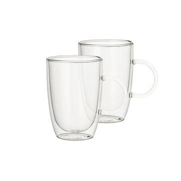 Villeroy & Boch - Artesano Hot & Cold Beverages - 2 szklanki z uchem - pojemność: 0,39 l
