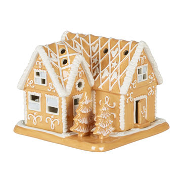 Villeroy & Boch - Winter Bakery Decoration - lampion - piernikowa willa - wymiary: 16 x 16 x 13 cm