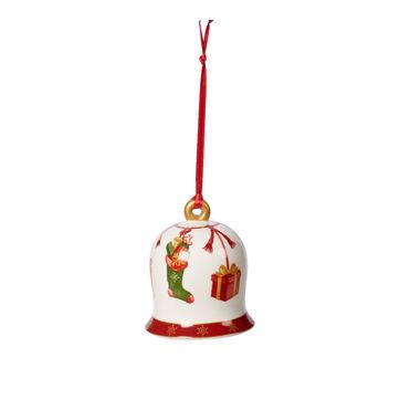Villeroy & Boch - Annual Christmas Edition 2019 - zawieszka dzwoneczek - średnica: 7 cm