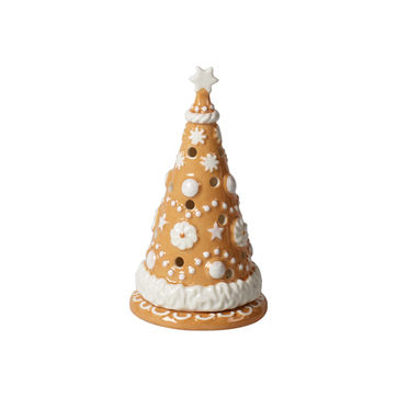 Villeroy & Boch - Winter Bakery Decoration - lampion - choinka - wysokość: 15 cm