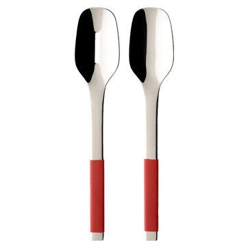 Villeroy & Boch - S+ Cranberry - sztućce do sałatek - długość: 28 cm