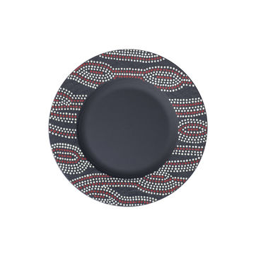 Villeroy & Boch - Manufacture Rock Desert - talerz sałatkowy - średnica: 22 cm