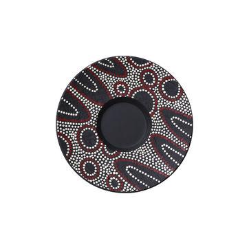 Villeroy & Boch - Manufacture Rock Desert - spodek do filiżanki do kawy z mlekiem - średnica: 17 cm