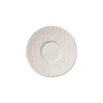 Villeroy & Boch - Manufacture Rock blanc - spodek do filiżanki do espresso - średnica: 12 cm