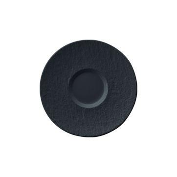 Villeroy & Boch - Manufacture Rock - spodek do filiżanki do kawy z mlekiem - średnica: 17 cm