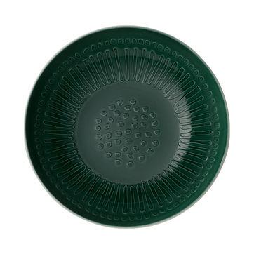 Villeroy & Boch - it's my match green - miska do serwowania - średnica: 26 cm; wzór: kwiat