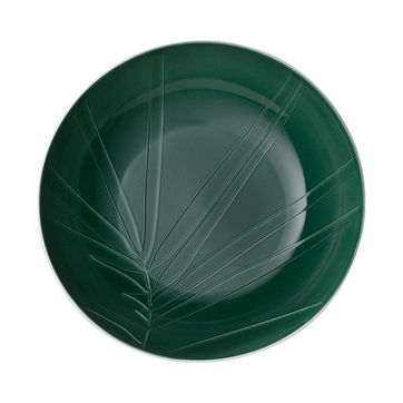 Villeroy & Boch - it's my match green - miska do serwowania - średnica: 26 cm; wzór: liść
