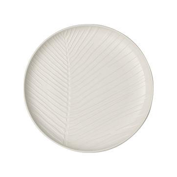 Villeroy & Boch - it's my match - talerz uniwersalny - średnica: 24 cm; wzór: liść