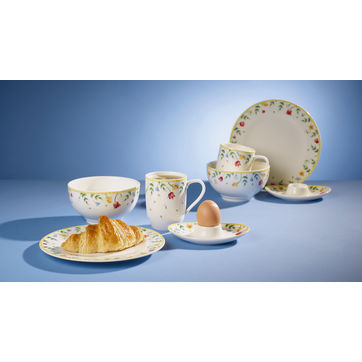Villeroy & Boch - Spring Awakening - zestaw śniadaniowy dla 2 osób - 8 elementów