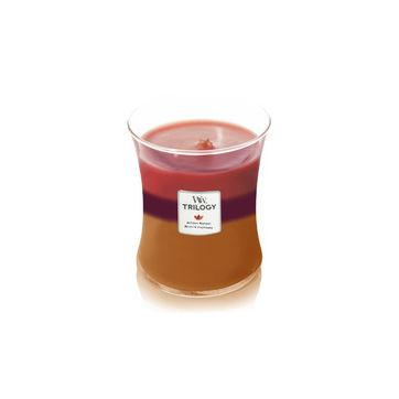 WoodWick - Autumn Harvest - potrójna świeca zapachowa - jesienne zbiory - czas palenia: do 100 godzin