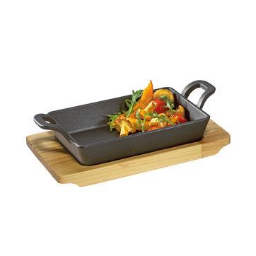 Küchenprofi - mini brytfanna do serwowania - wymiary: 21,5 x 12,5 x 6 cm