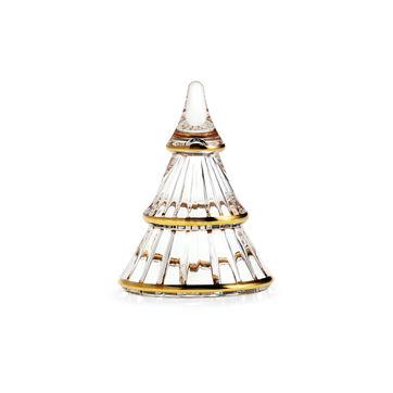 Holmegaard - Fairytales - szklana choinka - wysokość: 9 cm