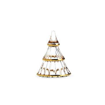 Holmegaard - Fairytales - szklana choinka - wysokość: 7,5 cm