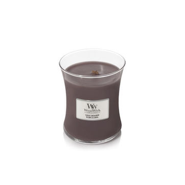 WoodWick - Sueded Sandalwood - świeca zapachowa - drzewo sandałowe - czas palenia: do 65 godzin
