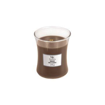 WoodWick - Humidor - świeca zapachowa - liście tytoniu - czas palenia: do 65 godzin