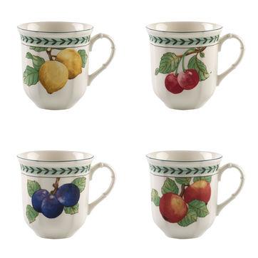 Villeroy & Boch - French Garden Modern Fruits - zestaw 4 kubków - pojemność: 0,48 l