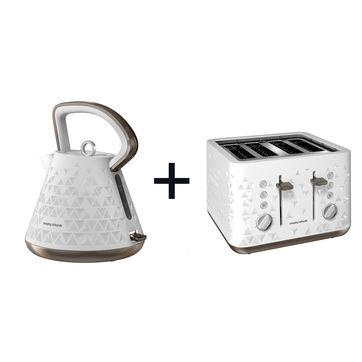 Morphy Richards - Prism - czajnik elektryczny + toster