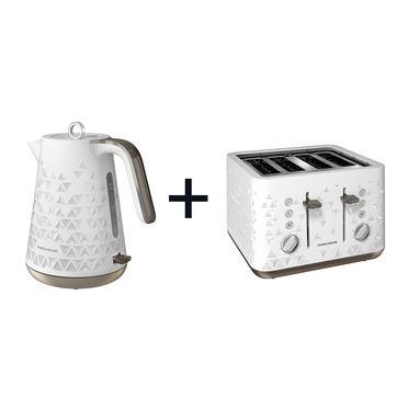 Morphy Richards - Prism Jug - czajnik elektryczny + toster