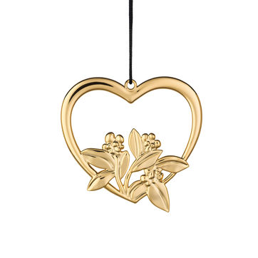 Rosendahl - Karen Blixen's Christmas - zawieszka serce - wysokość: 12 cm