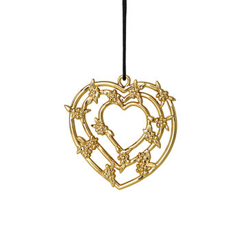 Rosendahl - Karen Blixen's Christmas - zawieszka serce - wysokość: 7 cm