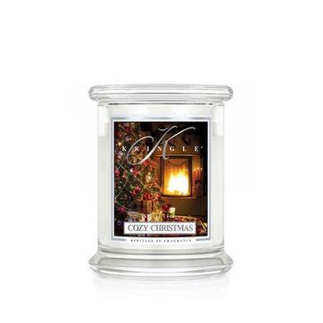 Kringle Candle - Cozy Christmas - świeca zapachowa - las iglasty - czas palenia: do 75 godzin