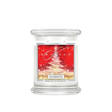 Kringle Candle - Stardust - świeca zapachowa - kwiaty i bursztyn - czas palenia: do 75 godzin