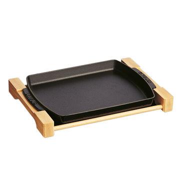 Staub - żeliwne naczynie do serwowania - wymiary: 33 x 23 cm