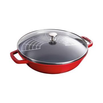 Staub - wok żeliwny - średnica: 30 cm
