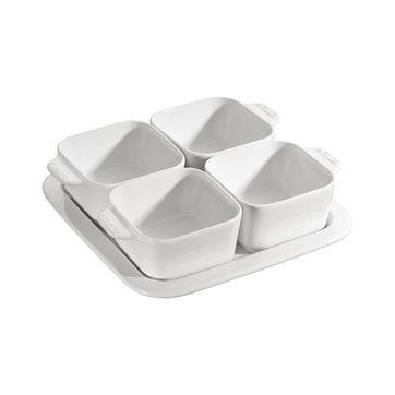 Staub - Serving - zestaw do przekąsek - pojemność: 4 x 0,125 l