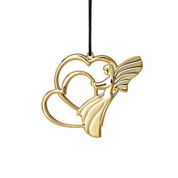Rosendahl - Karen Blixen's Christmas - zawieszka anioł z sercem - wysokość: 7 cm