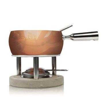 Boska - Copper - zestaw do fondue - pojemność: 1,0 l
