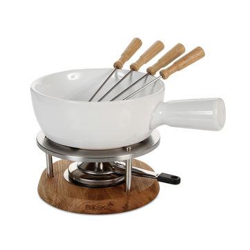 Boska - Bianco - zestaw do fondue - pojemność: 1,0 l