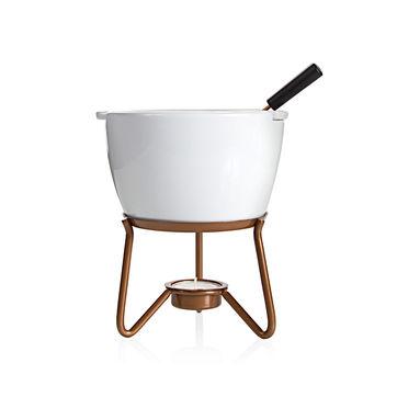 Boska - Marie - zestaw do fondue czekoladowego - pojemność: 0,4 l