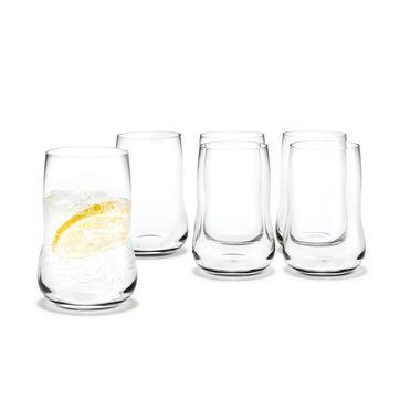 Holmegaard - Future - 6 szklanek - pojemność: 0,25 l