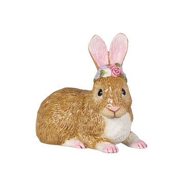 Villeroy & Boch - Easter Bunnies - leżący zajączek - wysokość: 17 cm