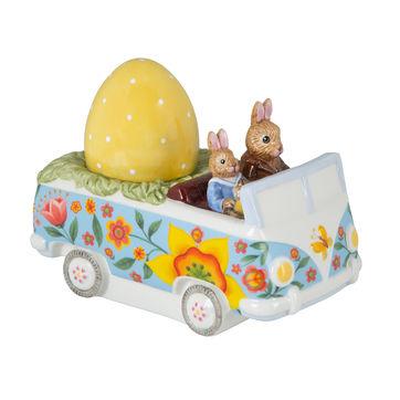 Villeroy & Boch - Bunny Tales - figurka - autobus z pisanką - wymiary: 14 x 7,5 x 10,5 cm