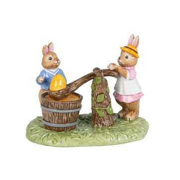 Villeroy & Boch - Bunny Tales - figurka - malowanie jajek - wymiary: 13,5 x 9 x 10,5 cm